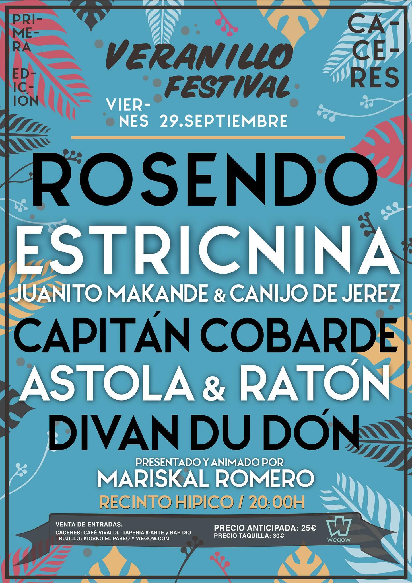 0239be7a313d VERANILLO FESTIVAL - CÁCERES - Capitan Cobarde - Página Oficial
